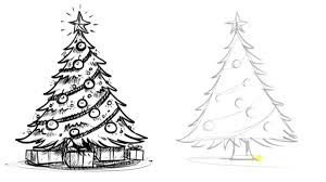 drawn christmas tree rainforest islands ferry