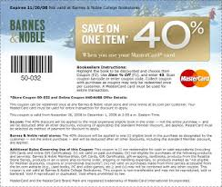 Barnes And Nobles Membership Barnes And Noble 40 Off Coupon Natural Thrifty