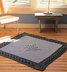 Cable Knit Rug Ravelry The Knitted Rug Patterns