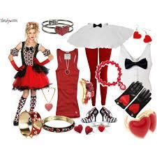 Halloween Costumes Queen Hearts Queen Hearts Halloween Diy Polyvore