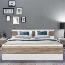 King Size Oak Bed Frame by Oak Bed Frames Wayfair Co Uk