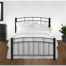 fashion bed group b91245 scottsdale queen bed in black with metal