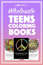 wholesale coloring books for teens art therapy coloring