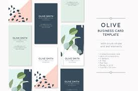 olive business card template business card templates creative