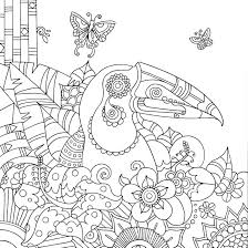 wildlife coloring book mindfulness coloring books