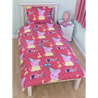 Peppa Pig Toddler Duvet Cover Amazon Co Uk Peppa Pig Duvet Covers Duvets U0026 Duvet Covers