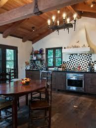 art deco home design mediterranean kitchen at new spanish