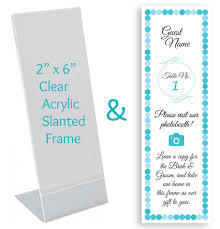 photo booth frames custom place card inserts in photo booth frames photo booth