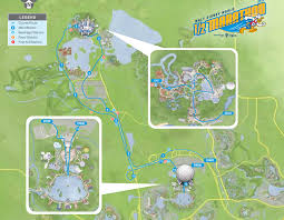 Walt Disney World Maps by 2014 Walt Disney World Marathon Weekend Course Maps Doombuggy Runner