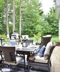 our backyard patio reveal perfect for entertaining