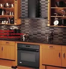 black kitchen backsplash ideas backsplash ideas for black granite countertops black countertop