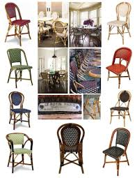 Rattan Bistro Chairs April In Paris U201d The Bistro Chair House Appeal