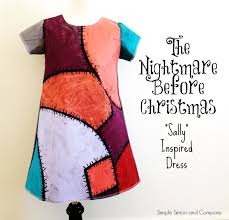 the nightmare before sally inspired dress