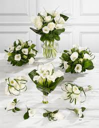 Bouquet Of Lilies White Calla Lily Wedding Flowers Collection 4 M U0026s