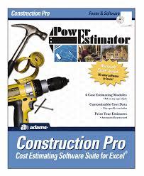 Construction Estimating Programs by Amazon Com Powerestimator Construction Pro Estimating