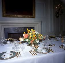 kn c20292 flower arrangement and table settings for white house