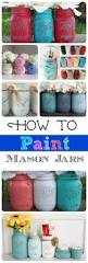 how to paint glass bottles mason jar projects project ideas and