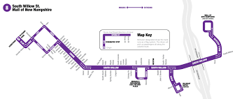 Burlington Mall Map Route 8 Manchester Transit Authority