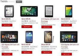 cyber monday gift card deals updated cyber monday 2013 best tablet deals zdnet