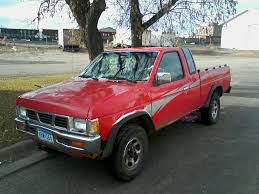 red nissan frontier lifted 1993 nissan pickup overview cargurus