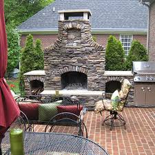 Outdoor Patio Fireplaces A Guide To Shopping For Outdoor Fireplace Kits