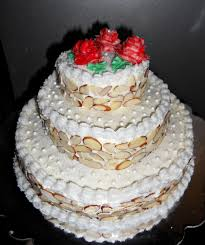 tiered wedding cakes three tiered wedding cake hezzi d s books and cooks