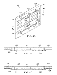 patent us8802981 flush wall mount thermostat and in set mounting