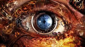 Futuristic Clock Abstract Cameras Clocks Cyberpunk Eyes Futuristic Gears Lens