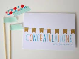 congratulations engagement banner mr mrs wedding card congratulations card congrats