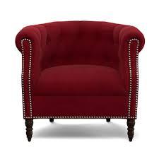 handy living chesterfield chair red velvet bj u0027s wholesale club