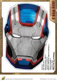 masque iron man 3 gris halloween pinterest