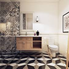 scandinavian bathroom design ideas with white color shade which