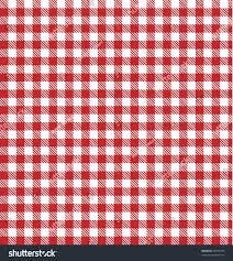 Plaids Red Picnic Plaid Table Cloth Pattern Stock Vector 44997739
