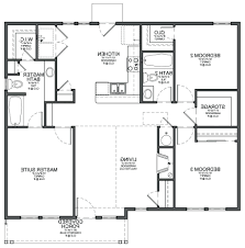 Examples Of Floor Plans For A House Hand Drawn Plans Floor Plan House On With Open Home Officehome