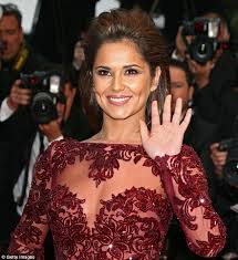 cannes 2013 cheryl cole looks marvellous in maroon at premiere of