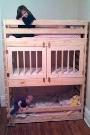 Crib Size Toddler Bunk Beds Bunk Bed Toddler Toddler Loft Bed Plans Regular Fits A Crib