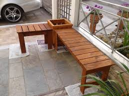 Garden Bench With Planters Best 25 Planter Bench Ideas On Pinterest Beds Uk Garden