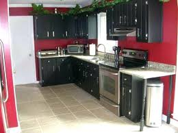 Black Kitchen Cabinets What Color On Wall Black Gloss Kitchen Wall Cabinets Black Kitchen Walls Brown