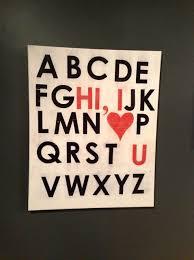how to make letter canvas artwork snapguide