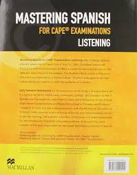 mastering cape spanish listening pk amazon co uk seetahal
