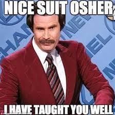 Suit Meme - the bachelor australia 2015 s presenter osher gunsberg gets compared