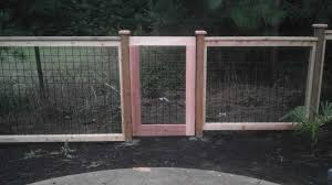 ideas chicken wire garden wood and wire fence gate fence ideas
