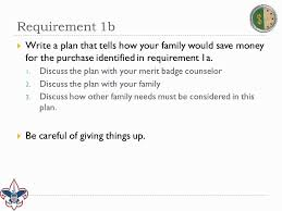 cooking merit badge worksheet answers personal management merit badge requirement 1 youtube