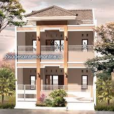 desain rumah lebar 6 meter rumah lebar 6 meter 2 lantai minimalis sederhana