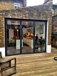 Cafe Swinging Doors Kitchen Islington Side Extension Kitchen Extension Victorian Terraced