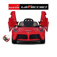 toy ferrari ferrari licensed laferrari 12v kids electric ride on car red