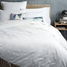 Duvet Cover Diy Bedroom Textured Duvet Cover Idearamaco White Melyssa Bedding Cb2