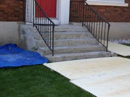 case study concrete stairs and landing removal and rebuild