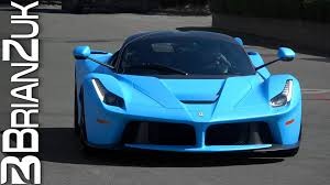 blue ferrari wallpaper matte blue ferrari laferrari youtube