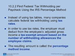 irs payroll tax tables 10 1 gross pay find the gross pay per paycheck based on salary